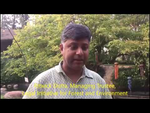 Eminent environmental lawyer Ritwick Dutta exposes ADB