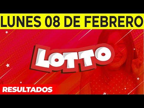 Resultados del Lotto del Lunes 8 de Febrero del 2021
