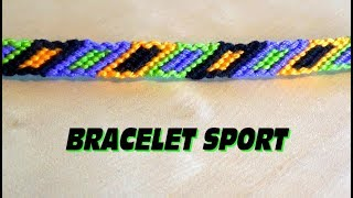 DIY Friendship sport bracelet (intermediate level)