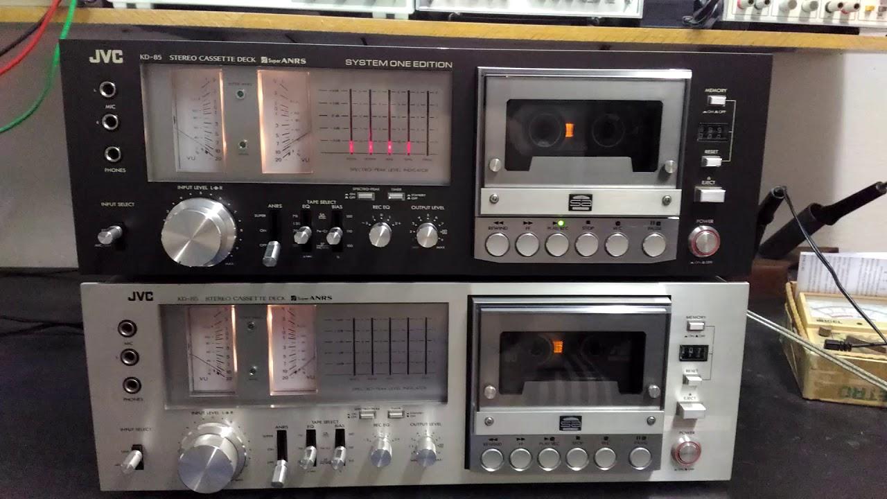 Tape Deck Jvc Kd 85