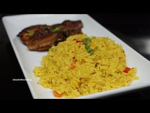 Perfect Yellow Rice Recipe| How To Make Yellow Rice