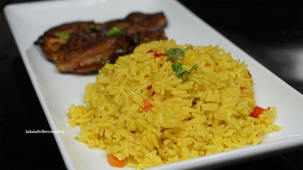 Perfect Yellow Rice Recipe How To Make Yellow Rice Youtube