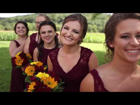 Haylei + Lance | Summer Wedding Videography | La Crosse, Wisconsin