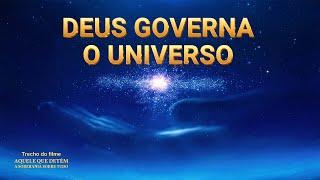 """Música gospel """"Aquele que detém a soberania sobre tudo"""" Clipe 1 - Deus governa o universo"""