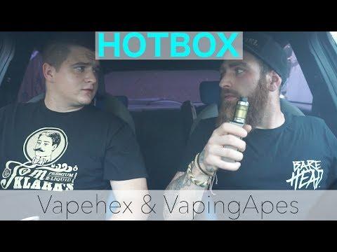 VapeHOTBOX mit Vapehex & VapingApes ► #realtalk