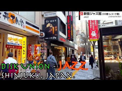 Japan's impressive JAZZ Vinyl store! :-D