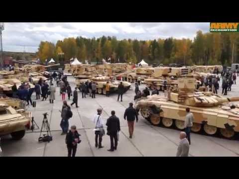 RAE 2015 Russia Arms Expo Day 2 UralVagonZavod Russian Defense industry MBT combat vehicle