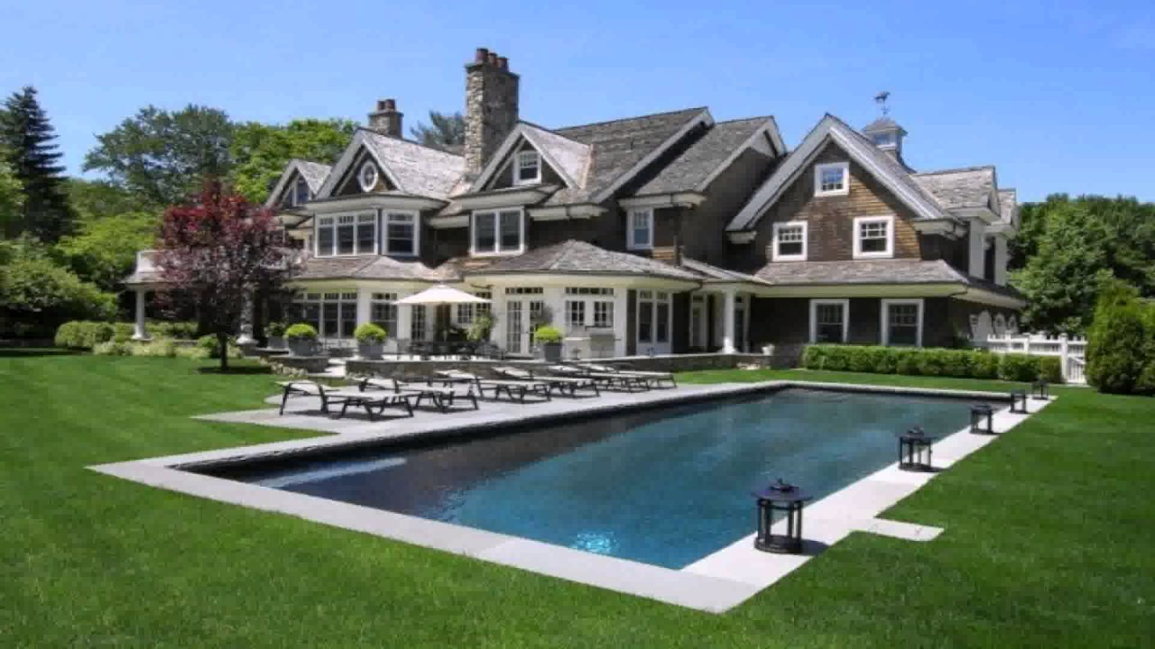 Hamptons style house floor plans youtube for Hamptons style floor plans