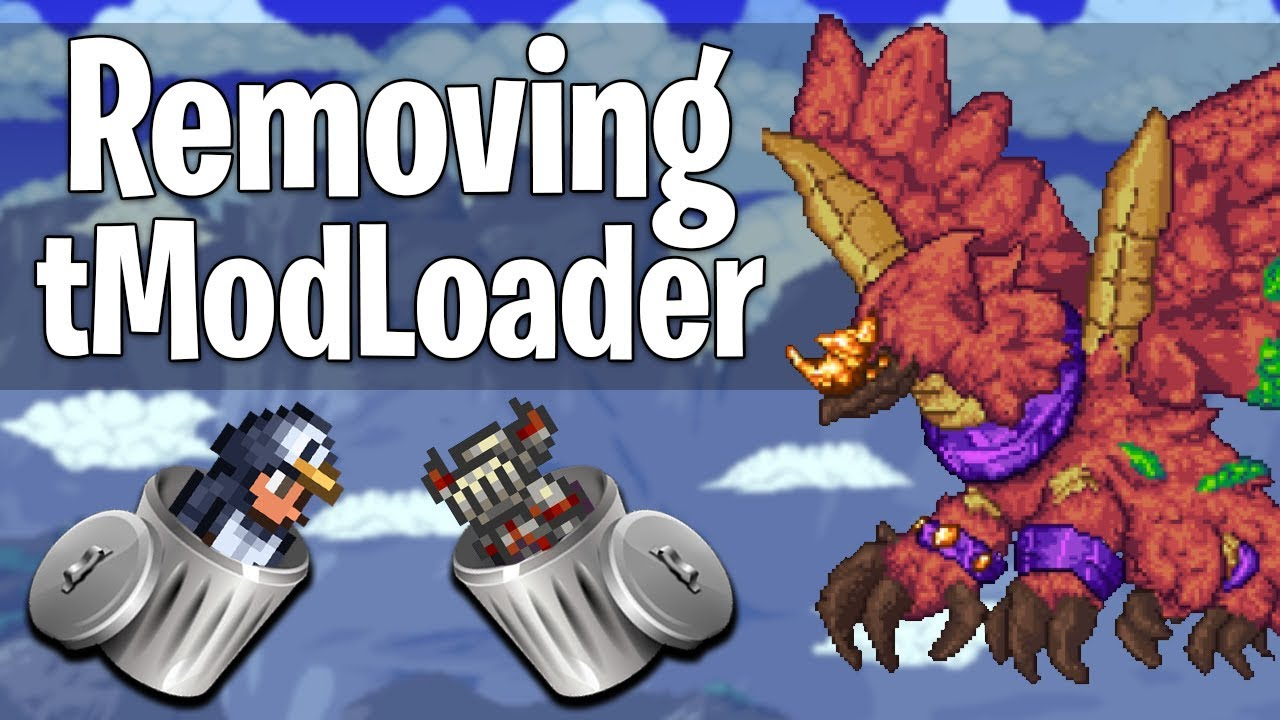 tModLoader: How to REMOVE mods! - YouTube