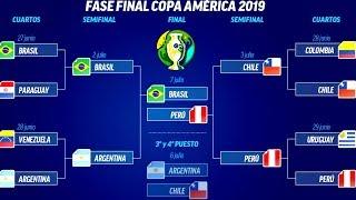ASÍ se JUGARÁ la GRAN FINAL de la COPA AMÉRICA 2019