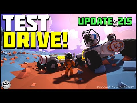Rovers Update 215 ! How Do They Drive ? Lets Play Astroneer Gameplay Z1 Gaming