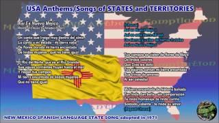 Baixar New Mexico Spanish Language State Song Así Es Nuevo Méjico with music, vocal and lyrics