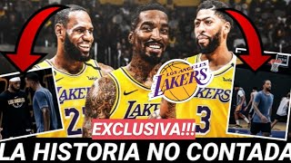 😱 EXCLUSIVA!!!🔥JR SMITH y el SECRETO mejor GUARDADO con LEBRON JAMES!!! 💥 LAKERS lo SABÍA!! NBA