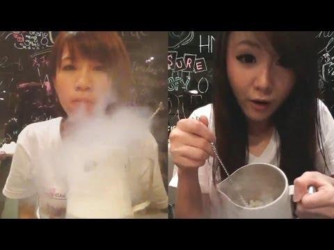 Cherrybelle Mainan Liquid Nitrogen @ Ron's Laboratory, istimewa!!