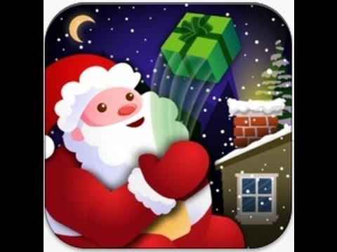 one of the best free christmas game apps slingin santa iphone app review - Free Christmas Apps