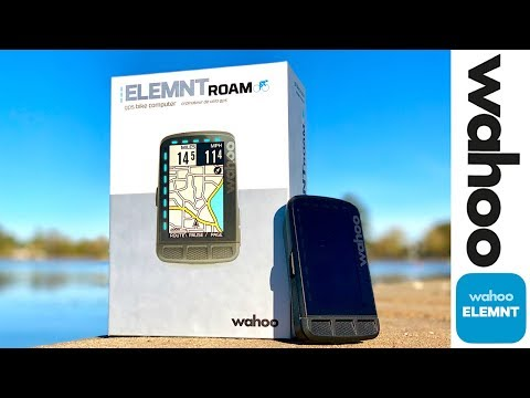 Wahoo ELEMNT ROAM Cycling GPS: Details // First Impressions // Feature Review