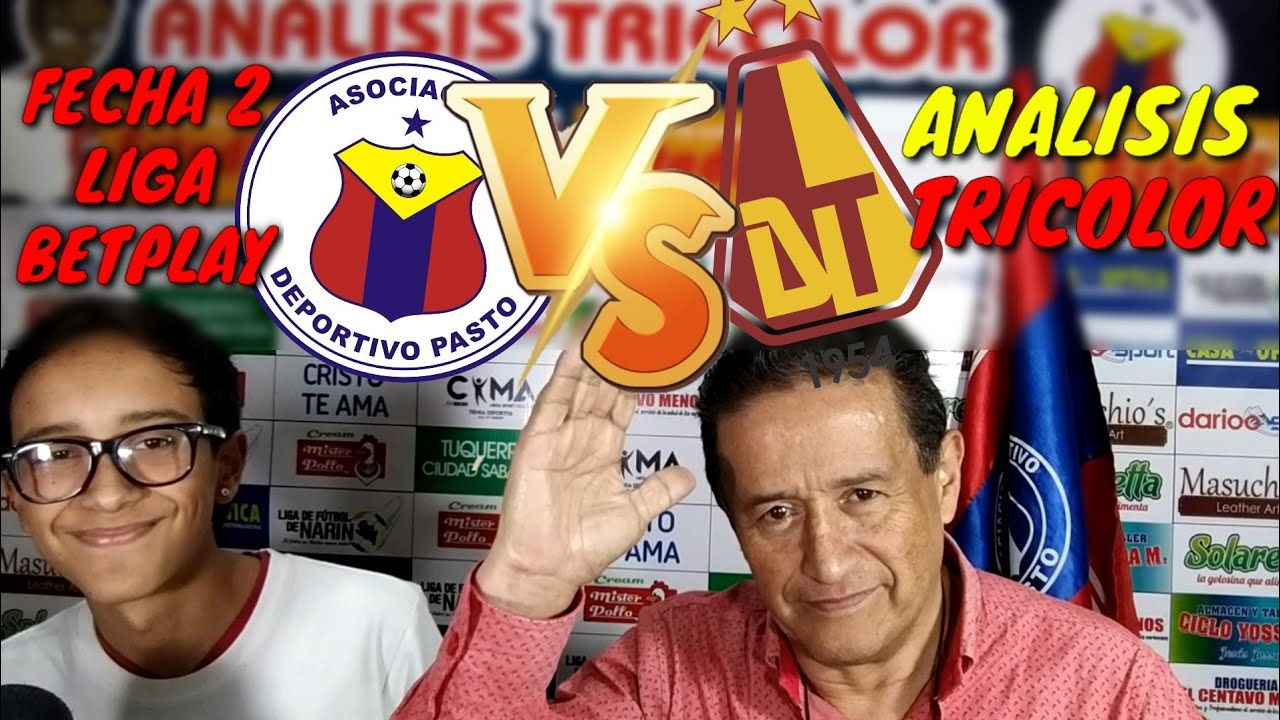 Analisis Tricolor Deportivo Pasto vs Deportes Tolima Fecha 2|Liga Betplay