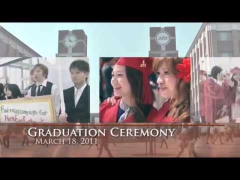 Ritsumeikan Asia Pacific University (APU) 2011 - An overview of campus life