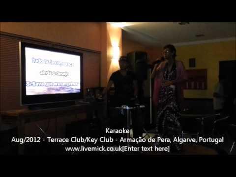 Algarve Tour - Karaoke Terrace Club - Armação de Pera, Algarve, Portugal
