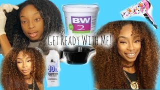 Get Ready With Me /bleaching My Hair!