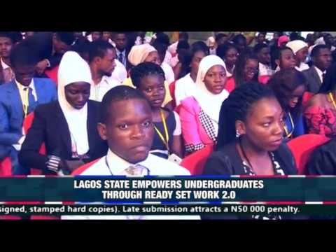 LAGOS STATE EMPOWERS UNDERGRADUATE THROUGH READY SET WORK 2.0 GF