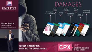 Hacking the Smartphone | Mobile Cyber Hack Demonstration | Mobile Security