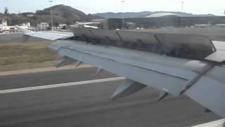 Aterrizaje A321 Madrid-Tenerife Norte Iberia 952
