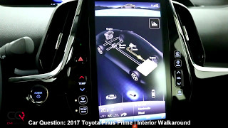 2017-2018 Toyota Prius Prime | Interior Walkaround | The MOST complete review: Part 2/7