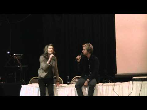 SacAnime Winter 2012 - FFXIII Voice Actor Q&A Panel feat. Troy Baker & Ali Hillis (FULL)