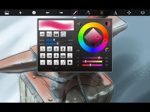 Autodesk SketchBook Express For IPad Review
