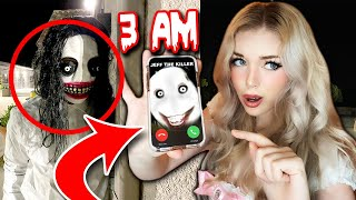 Do NOT CALL Jeff the KILLER at 3AM....(*HAUNTED?! HE FOUND US!*) Part 2