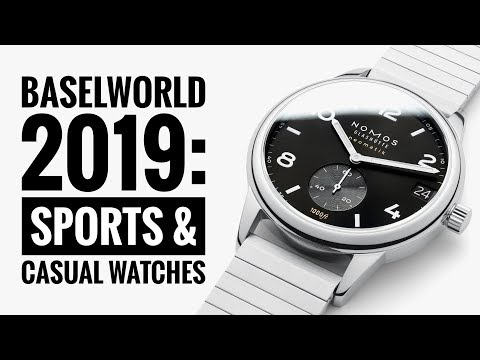 Baselworld 2019 Highlights: The Sports & Casual Watches   WATCH CHRONICLER
