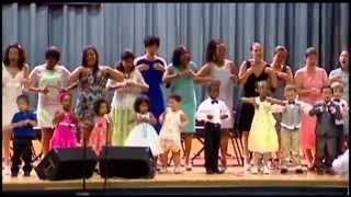 "Belle School Of Music. Annual Spring Concerts. Children Singing ""weather Vane"" Czech Folk Song"
