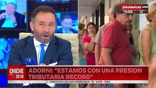 """Adorni: """"Es poco interesante venir a invertir a Argentina"""""""
