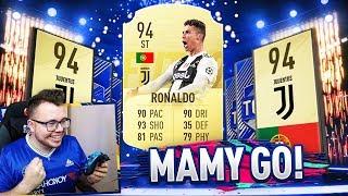 CRISTIANO RONALDO! NARESZCIE GO MAM! | FIFA 19