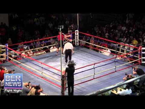 Zubair Hasan vs Adam Chevis At Fight Night, April 5 2014