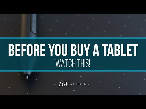 Before You Buy A Tablet For Photoshop ... WATCH THIS