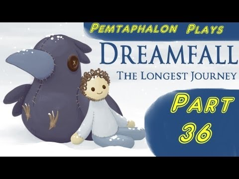 Let's Play Dreamfall: the Longest Journey - Part 36: April Gives Up |