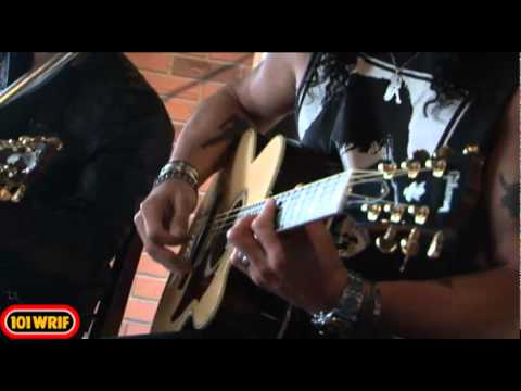 Slash - Back From Cali (acoustic) - 101 WRIF Detroit