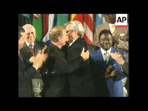 FRANCE: PEACE PRIZE GOES TO GUATEMALAN PRESIDENT & REBEL LEADER