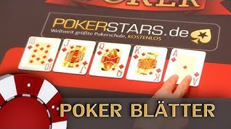 Welches Poker-Blatt schlägt welches? Let's Play Poker - Charity Poker 23.03.2013