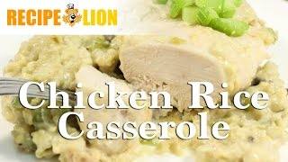 Chicken Rice Casserole in a Slow Cooker