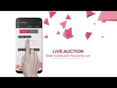 MUV Buyer App 2018 - 1st Slide-To-Bid App