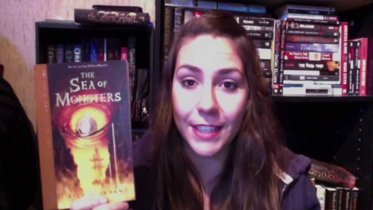 Download Let's Talk Book   The Sea of Monsters by Rick Riordan + Movie Review