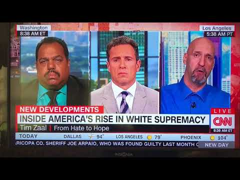Daryl Davis on CNN, 8/17/17