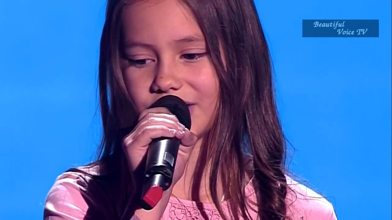 Maria.'The Winner Takes it All' (ABBA).The Voice Kids ...