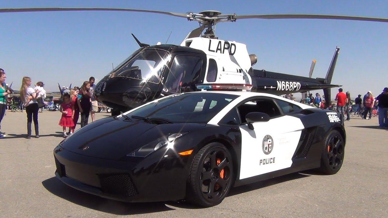 LAPD AStar & Lamborghini Gallardo