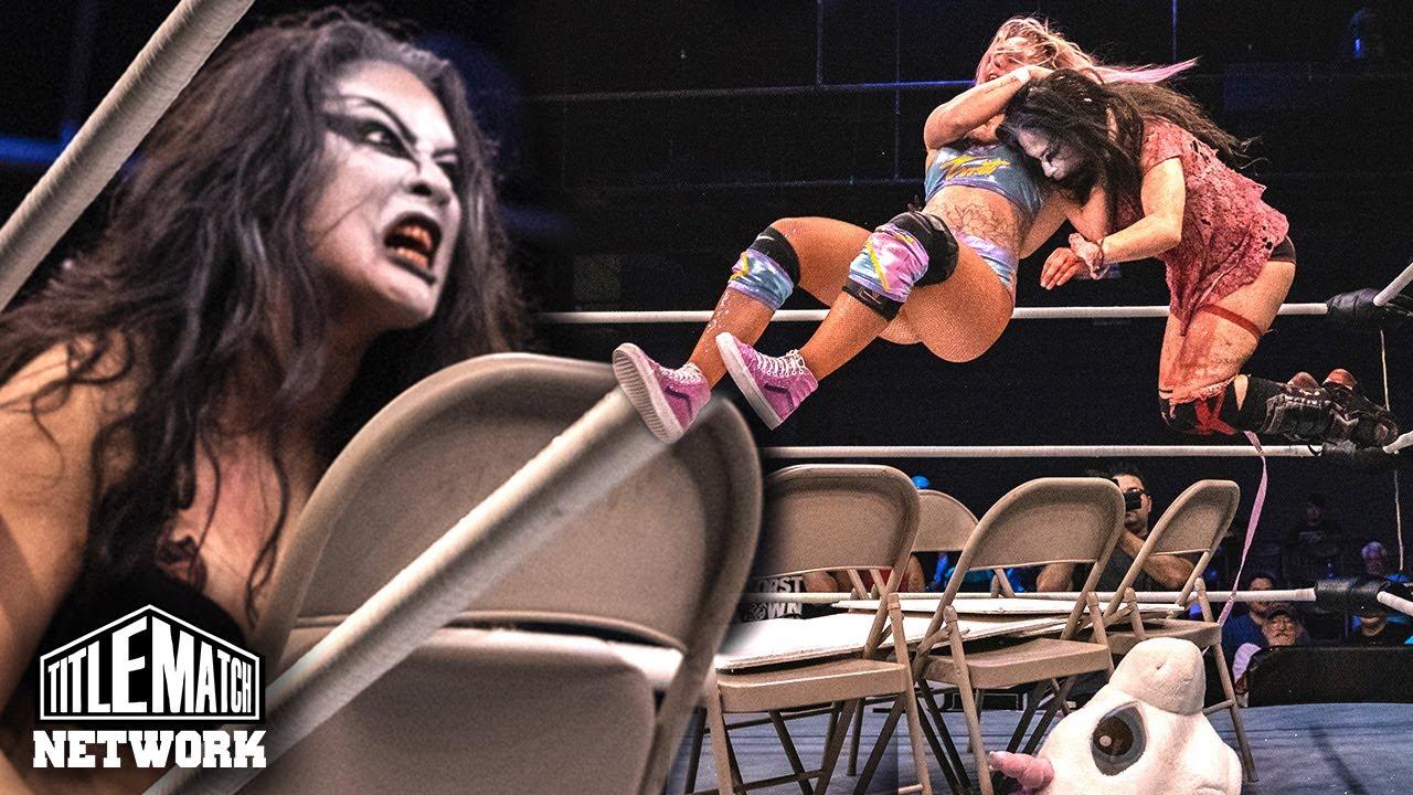 Best of Su Yung in Ladies Night Out - Kiera Hogan, Jordynne Grace, Maria Manic (Women's Wrestling)