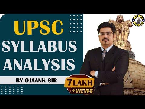 Strategy for IAS 2018 : UPSC Syllabus Analysis : Series 1 : Crack IAS / UPSC 2018