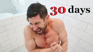 I Took Cold Showers for 30 Days (SHOCKED at what Happened)
